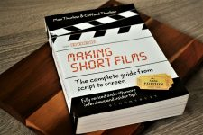 image shows the book Making Short Films
