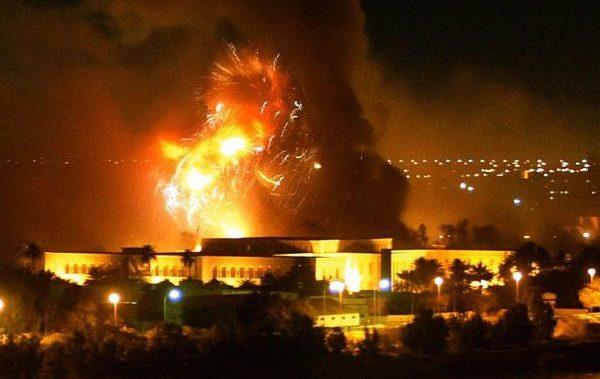 Bombing Baghdad