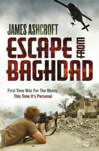 image shows cover of the book Escape from Baghdad