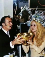 Dali with Bardot