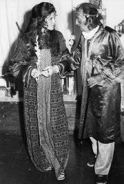 Samantha Eggar with Dalí