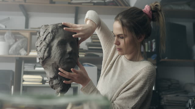 Creating great characters is like sculpting a figure from clay