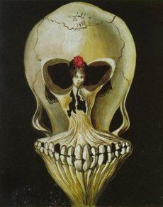 Death and the Maiden interpretation by Salvador Dali